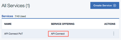 Replace the Old Product   IBM API Connect PoT